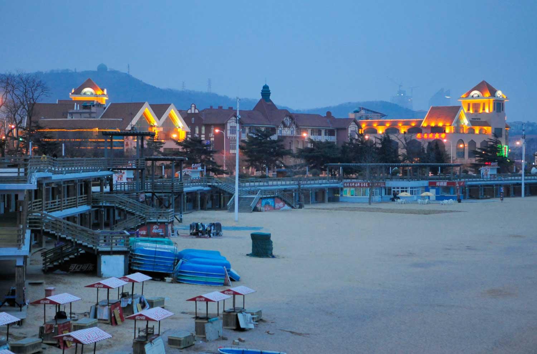 Bord de mer de Qingdao 青岛, Shandong 山东
