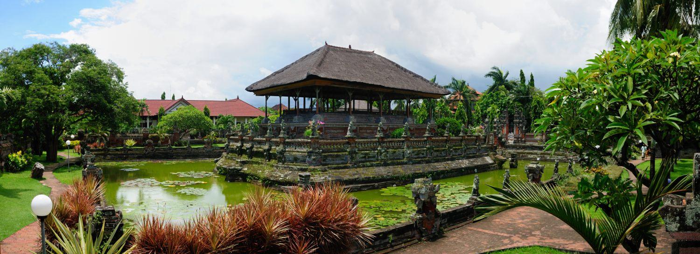 Le palais Kertha Gosa (Taman Kertha Gosa) de Semarapura (Klungkung), Bali, Indonésie