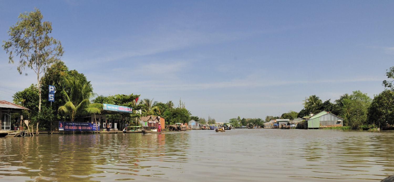 Marché flottant Phong Dien, Delta du Mékong