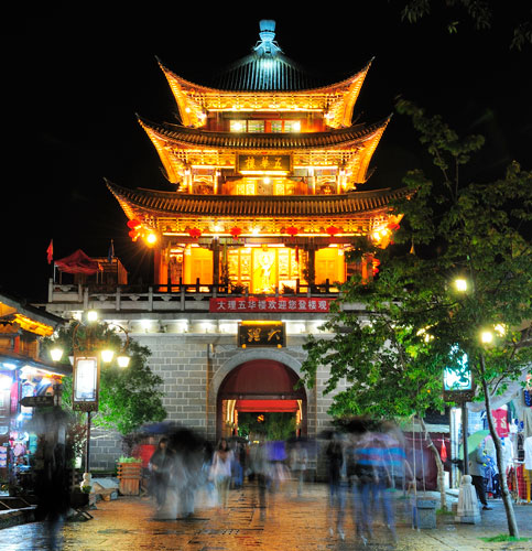 Dali (Dàlǐ 大理), un village fortifié du Yunnan (Yúnnán 云南), au coeur de la minorité Bai (白族)
