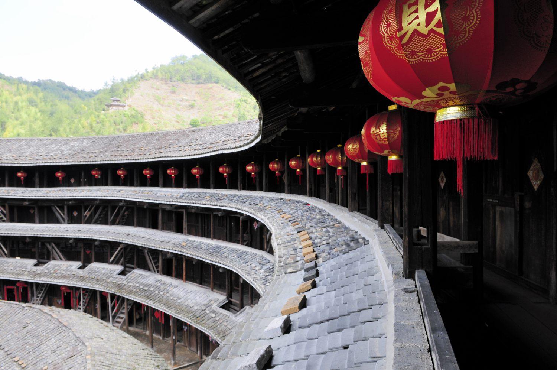 Tǔ Lóu 土楼, Chine