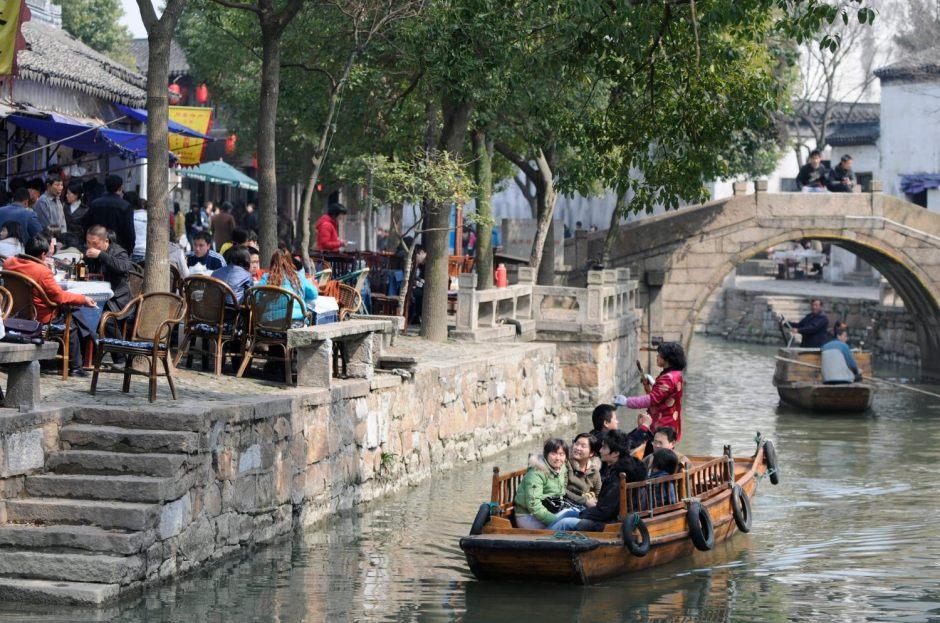 Tongli, l'un des villages d'eau autour de Shanghai