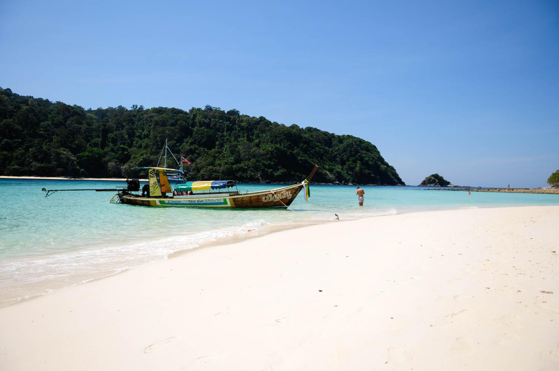 Koh Rok, Koh Lanta, Krabi Province, Thailande