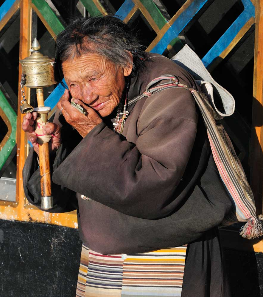 Marché de Barkhor, Bākuò 八廓, Lhasa, Tibet