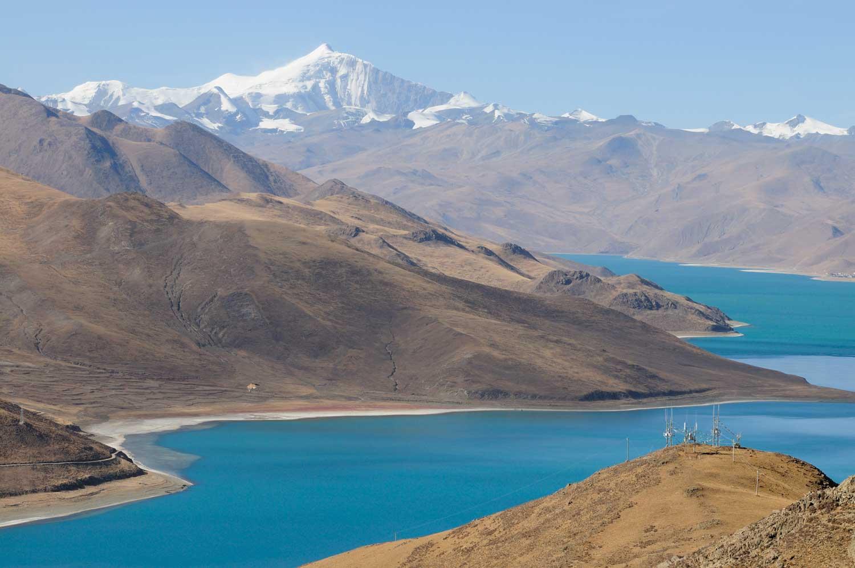 Lac Yamdrok-Tso, Yáng ZhuóYōng Cuò 羊卓雍錯, Tibet