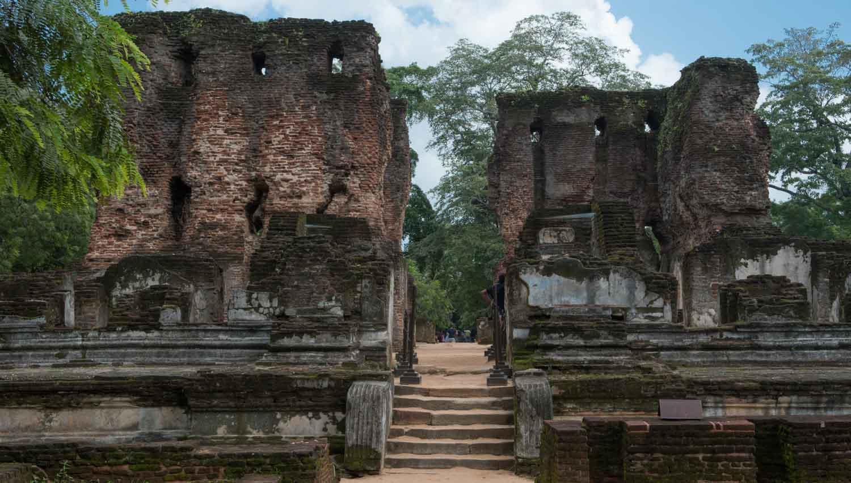 Royal Palace (Vejayanta Pasada), Polonnaruwa, Sri Lanka