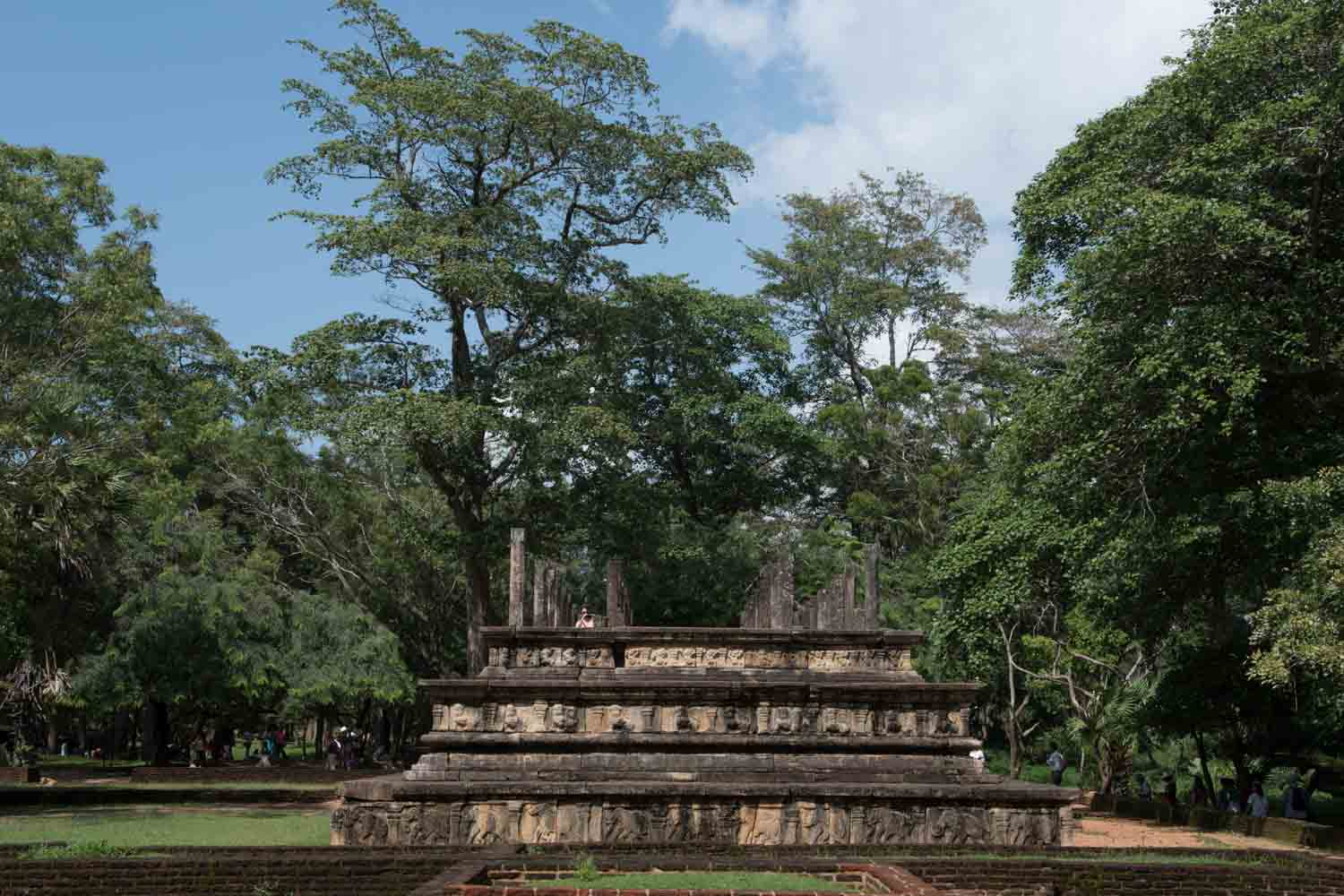 Royal Court-King Parakramabahu, Polonnaruwa, Sri Lanka