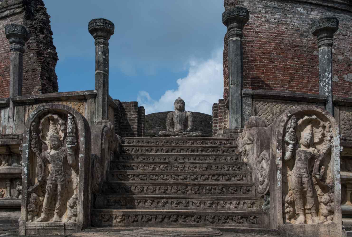 Polonnaruwa Vatadage (The Stupa House), Polonnaruwa, Sri Lanka