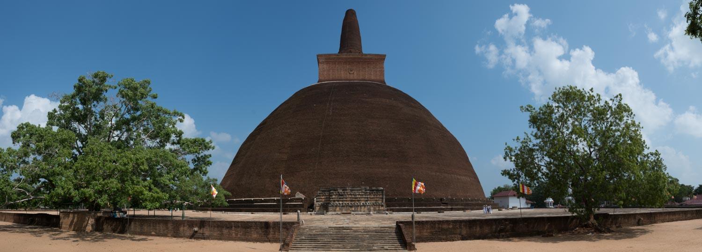 L'ancienne capitale royale d'Anuradhapura, Sri Lanka