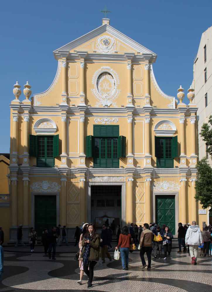Eglise Saint-Dominique 玫瑰堂, Macao 澳门