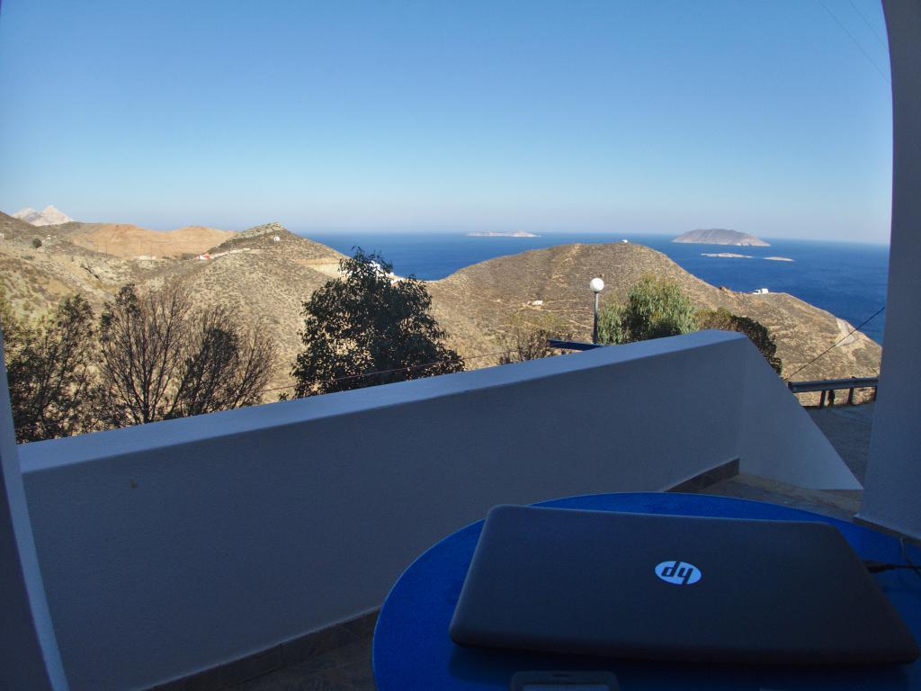 Bureau globe trotter et digital nomad