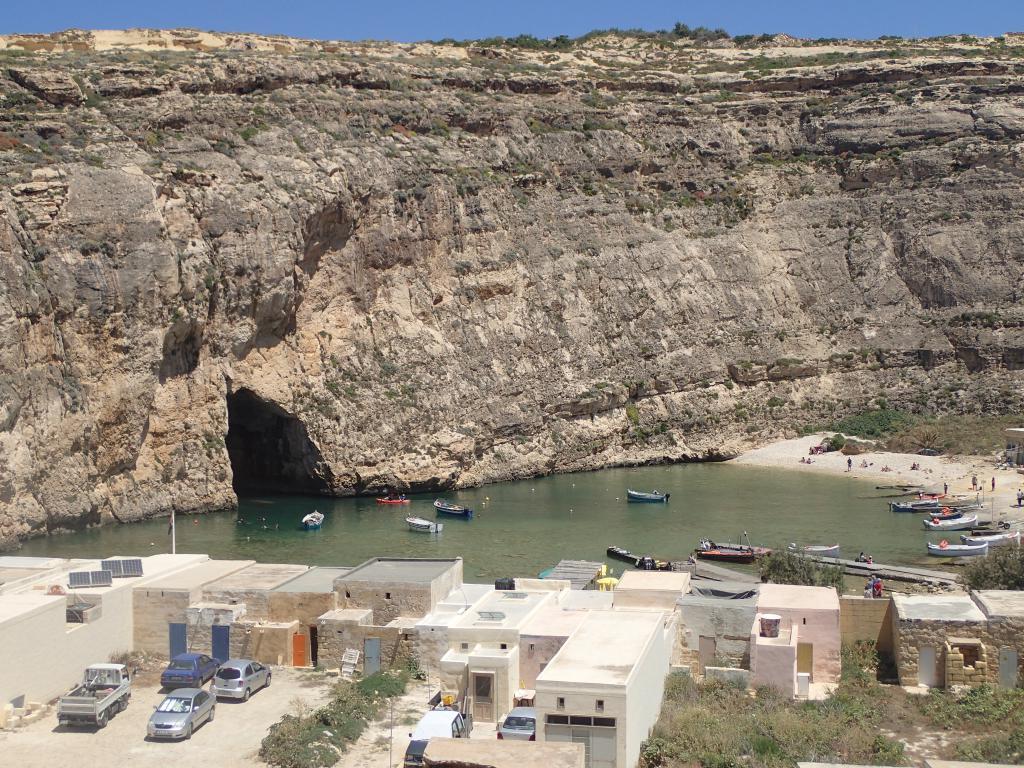 ile Gozo safari jeep mer intérieure