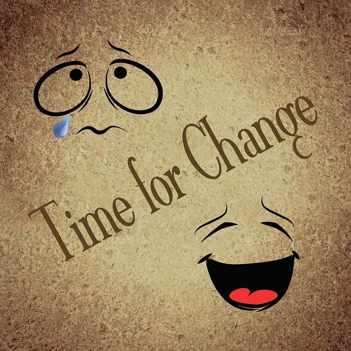 temps pour le changement de vie