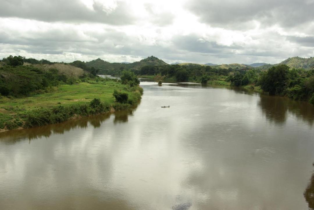 canal des pangalanes île de Madagascar