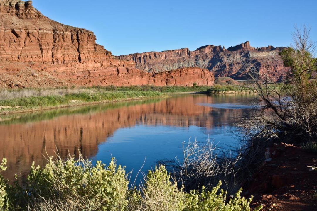 rivières canyon ouest américain
