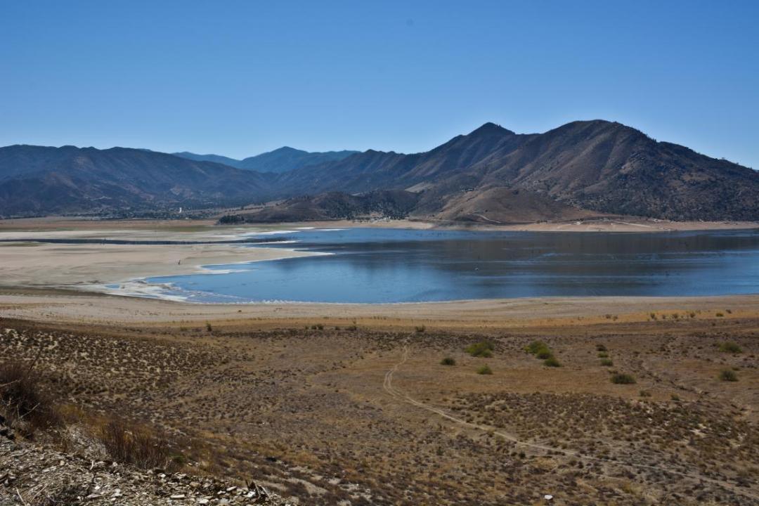 traversée du désert dans l'ouest américain