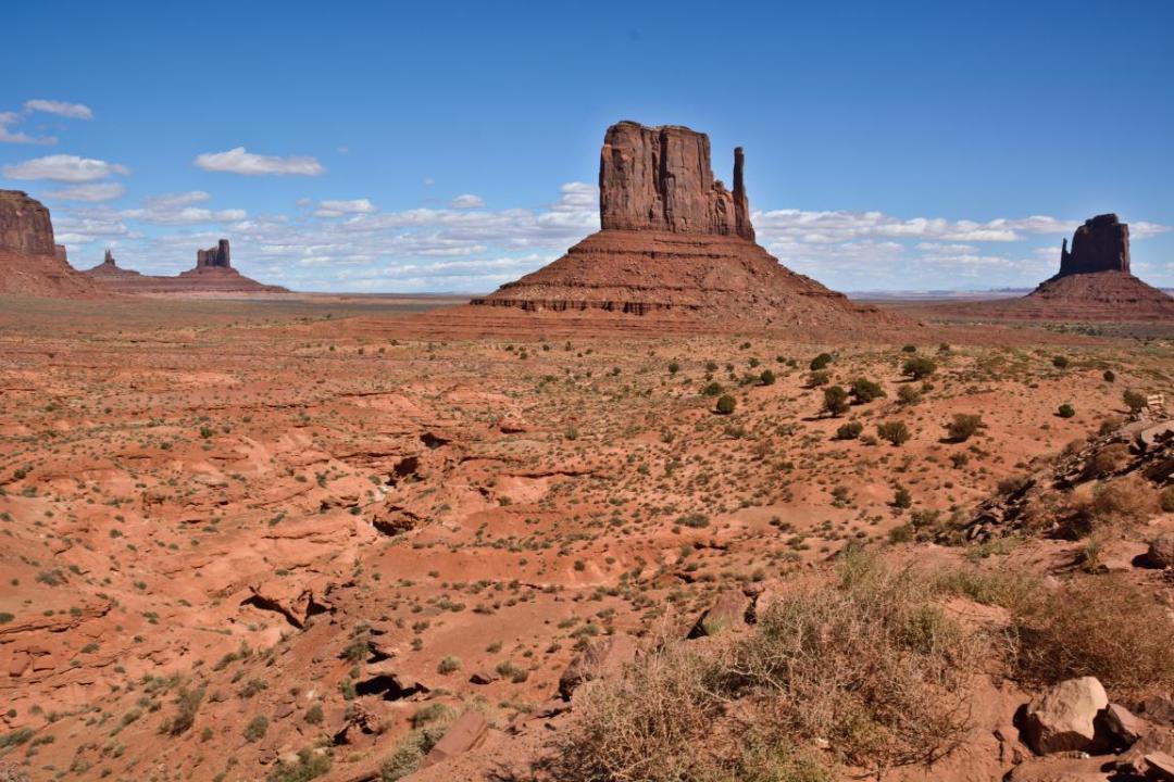 far ouest américain paysage lucky luke