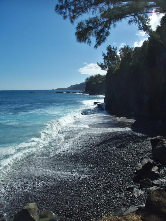 littoral sauvage de l'île de la réunion