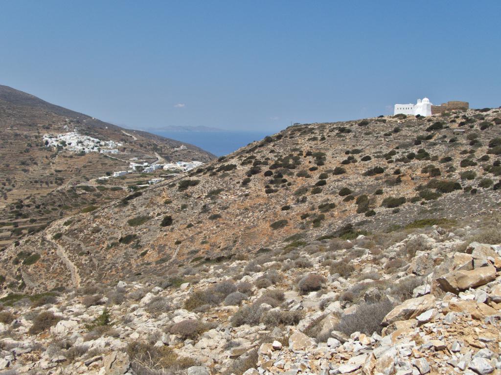 randonnée à Sikinos dans les Cyclades