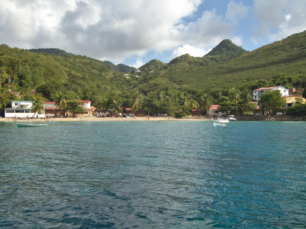 anse Dufour en Martinique dans les Caraibes