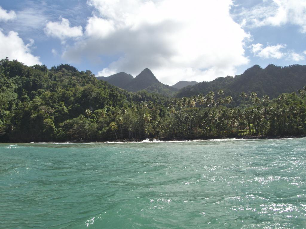 cote nord caraibes de la Martinique