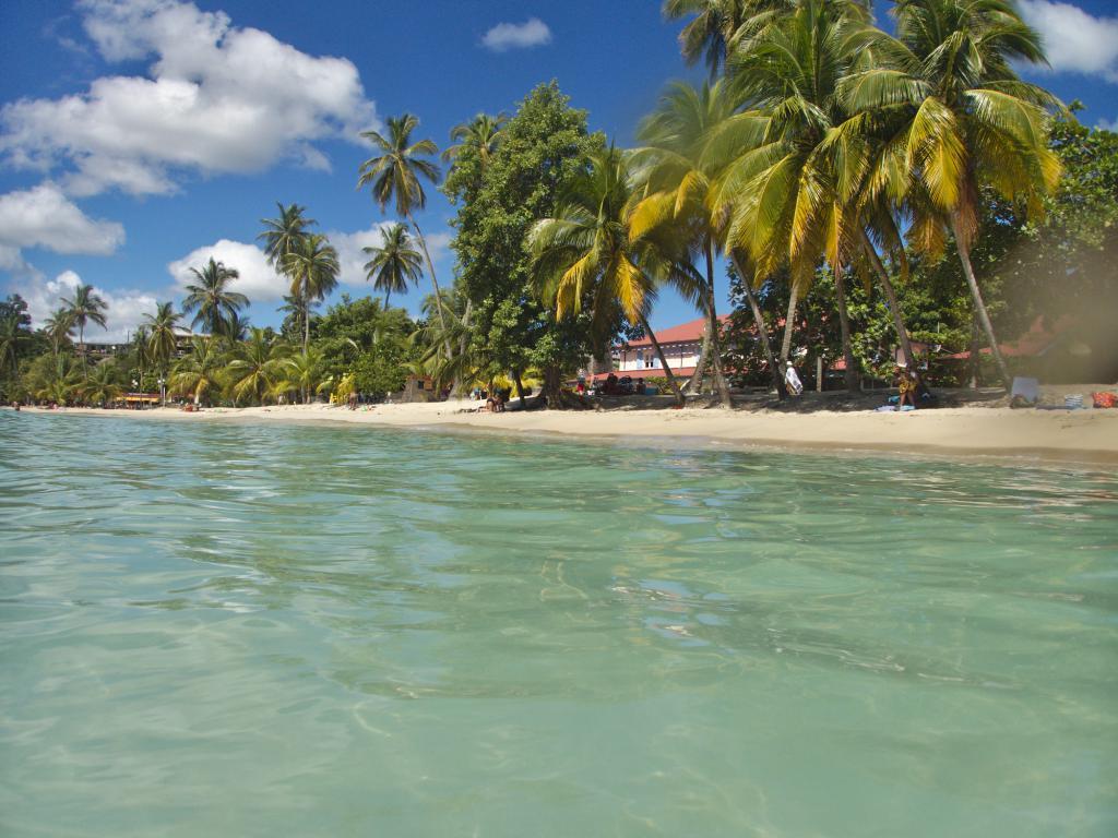 L'Anse Figuier prise depuis la mer