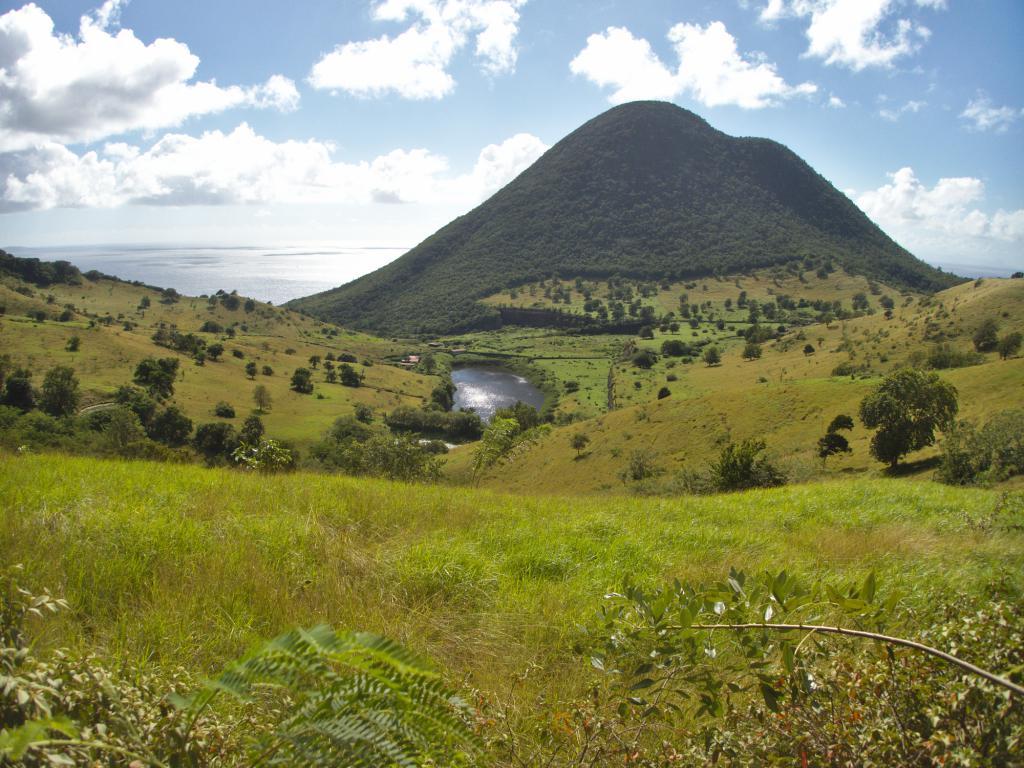 le Morner Larcher un sommet de Martinique dans les Caraibes