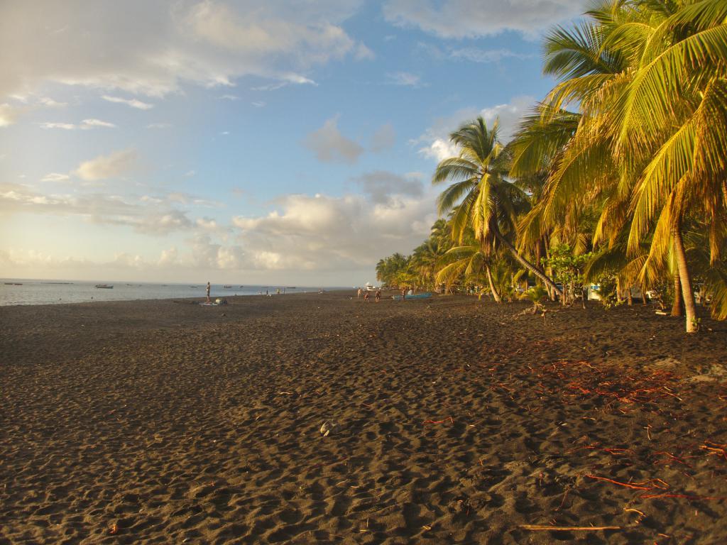 Plage du Carbet en Martinique dans les Caraïbes