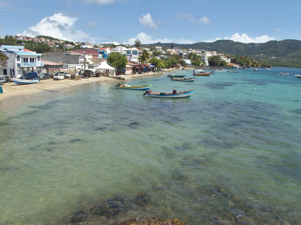 Village de Sainte Luce en Martinique dans les Caraïbes