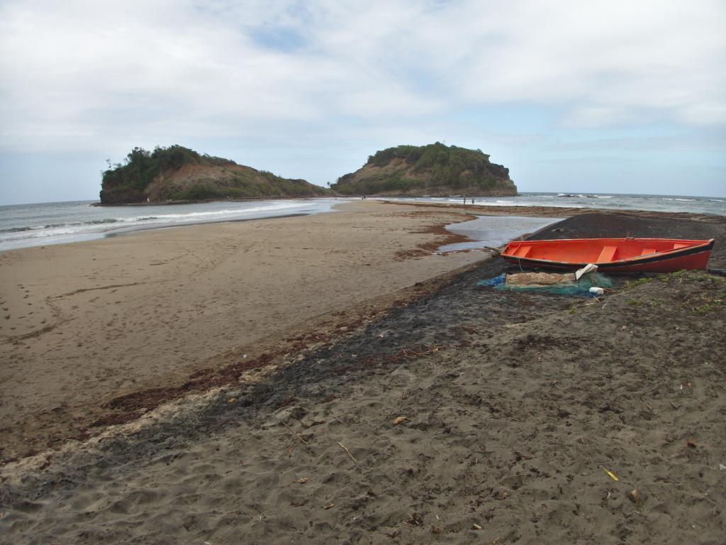 le Tombolo en Martinique dans les Caraibes