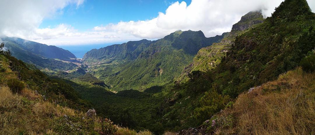 vallée de sao vicente sur l'île de madère