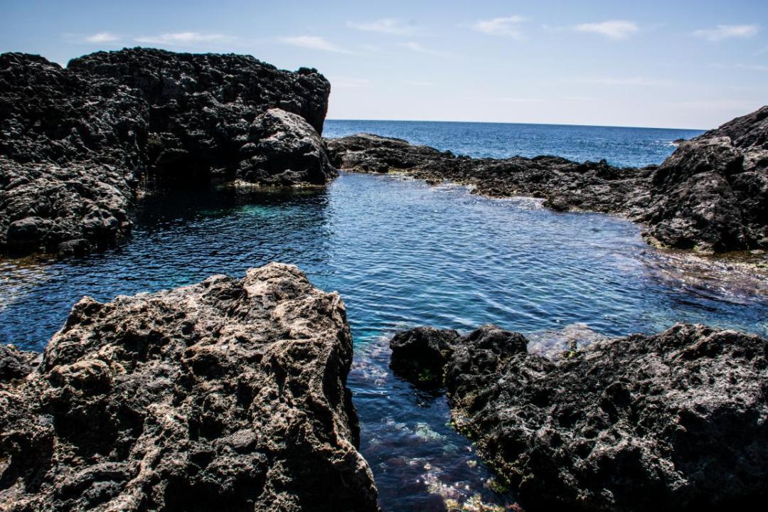 piscine naturelle ustica ile méditerranéenne