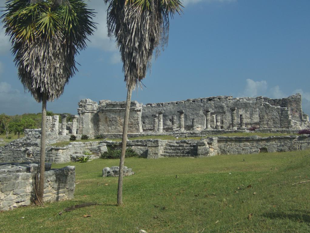 ruines de tulum peninsule yucatan