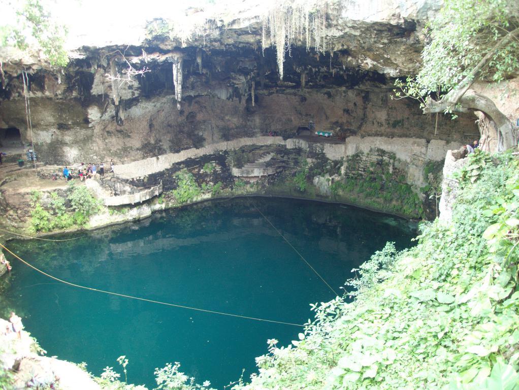 valladolid cenote yucatan mexique