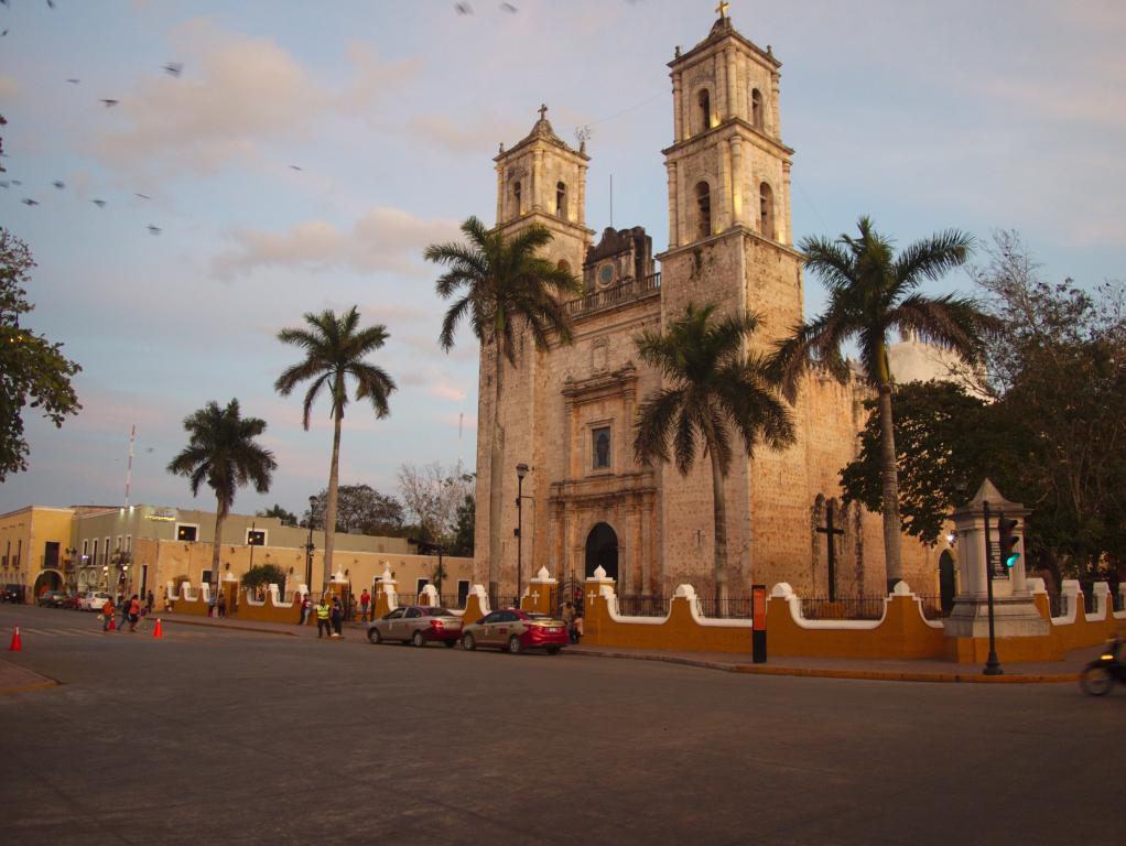 valladolid ville yucatan mexique