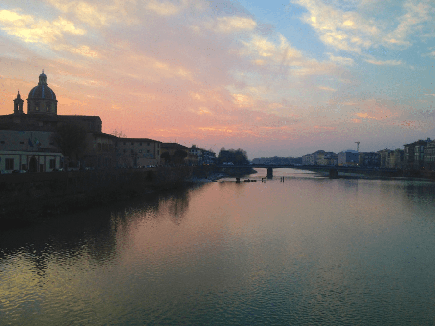 Fig. 5. San Frediano in Cestello at Sunset