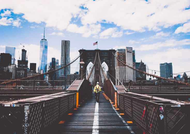 america american flag architecture bridge