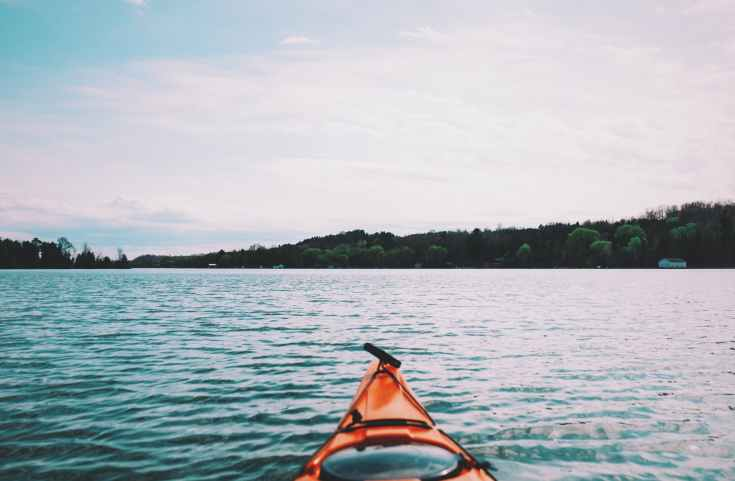 lake kajak kayak