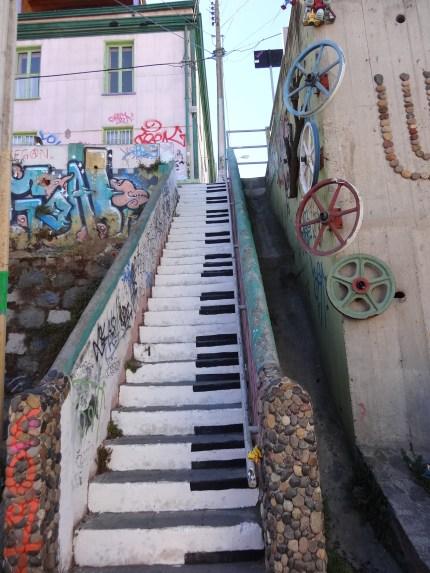 Más escaleras artísticas!