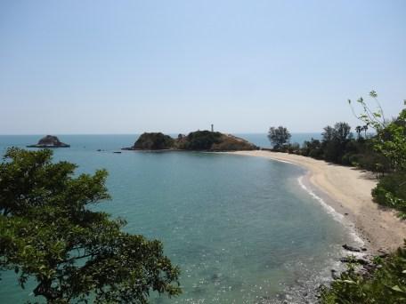 Parque Nacional al extermo sur de Koh Lanta.. ahí nos bañamos en agua MUY caliente