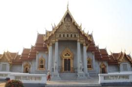 Wat Benchamabophit, en marbre de Carrare