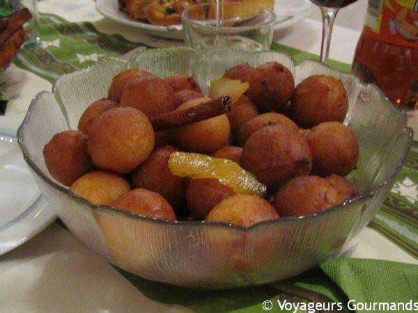 Desserts de fêtes portugais