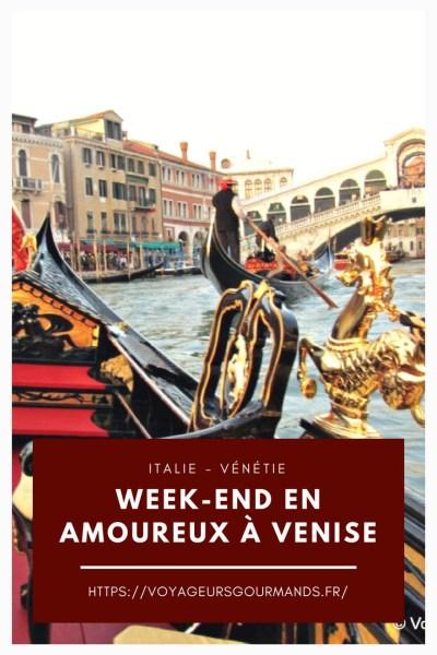 Week-end en amoureux à Venise