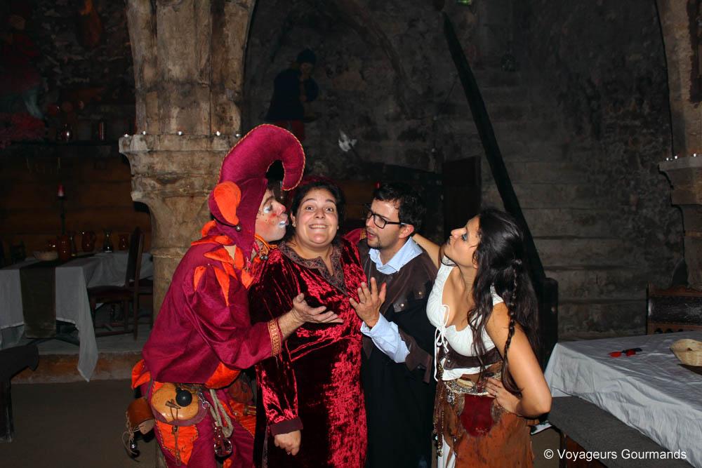 banquet des troubadours à Provins