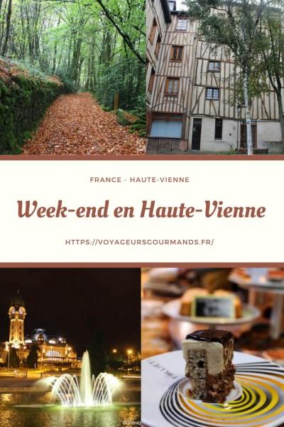 Week-end en Haute Vienne