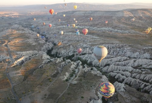 Hot Air Balloon Ride, Cappadocia