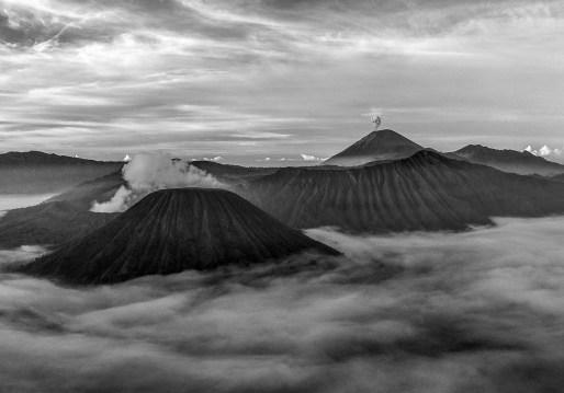 Caldera du Tenger, Java, Indonésie