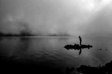 Lac du Gunung Rinjani, Lombok, Indonésie