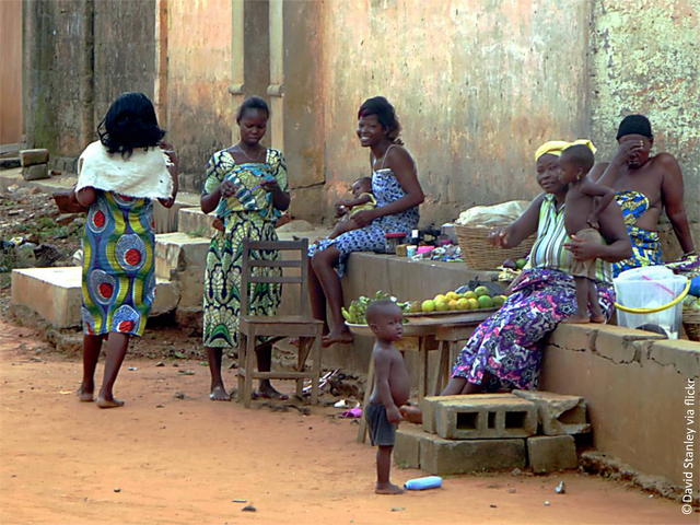 Benin_women cc David Stanley via flickr