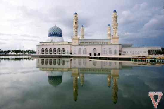 mosquée kota kinabalu